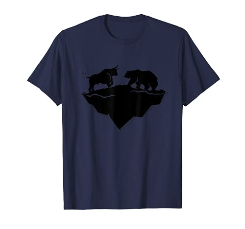 Bull Bear Market Stock Finance échange de crypto-monnaie T-Shirt
