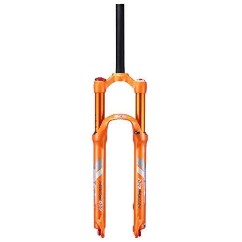VPPV Horquillas MTB Air 26'27,5 Pulgadas Amortiguador, Aleación Aluminio 1-1/8' Bicicleta Montaña Suspensión Tenedor Recorrido 100 Mm (Size : 27.5inch)