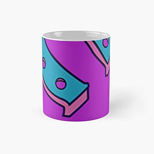 Taza clsica con diseo de zapato de caballo | El mejor regalo divertidas tazas de caf de 325 ml
