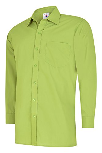 Uneek clothing - Chemise Business - Homme Vert Citron Vert Petit