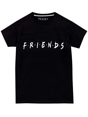 Friends - T-Shirt - Enfant - Noir - 12-13 Ans