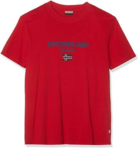 NAPAPIJRI Sonthe T-Shirt, Rosso (True Red R70), XX-Large Uomo