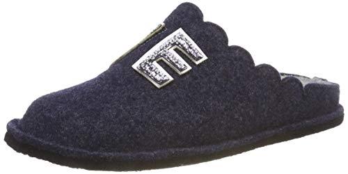 Supersoft Damen 522 297 Pantoffeln, Blau (Navy 834), 38 EU