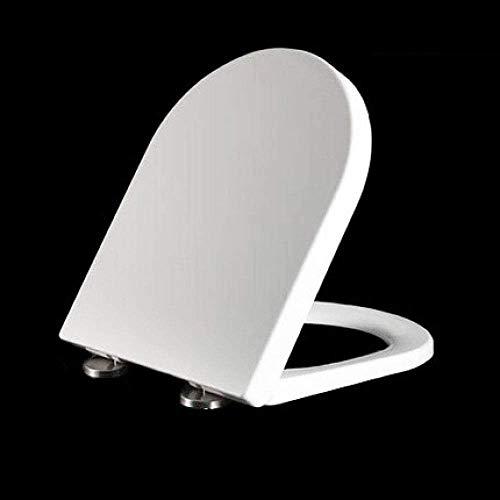 WC Cover Oud U-vormige One Second demontage en Slow Speed Off Mute Verdikte WC Cover eenvoudig te reinigen wc-deksel (Maat: W33.5) 8bayfa (Size : W36)