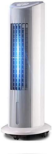 Torenventilator Bladloze ventilator Ultrastil huis, draagbare mobiele slimme airconditionerventilator, kantoorairconditionerventilator Gezuiverde luchtkoeler