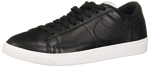 Nike Damen W Blazer Low Le Basketballschuhe, Schwarz (Black/Black/White/Gum Light Brown 001), 38 EU