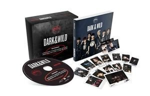 BTS 1st Album [DARK & WILD] CD + PhotoCards + PhotoBook BAGNTAN