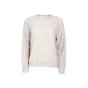 SUNDRY Women's Leopard Cozy Sweatshirt