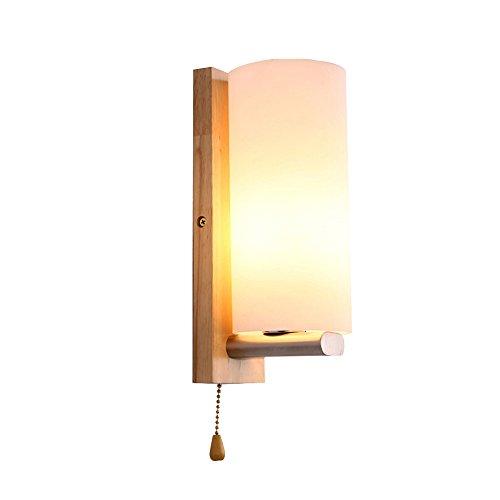 Slaapkamer Armaturen Met Pull draadontspanner Planken Wandlamp Creative Simple Slaapkamer Woonkamer bedlampje Aisle Corridor Muur Light W Wandlamp Verlichting