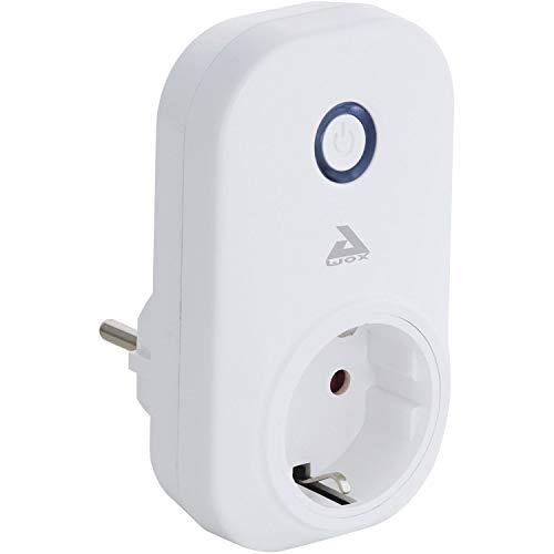EGLO connect PLUG, Smart Home Stecker, Steckdose mit Energiemesser, Bluetooth Zubehör für EGLO connect System Material: Kunststoff, Farbe: Weiß