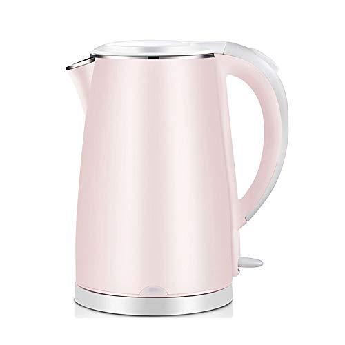 Zfggd Théière électrique en Acier Inoxydable pour Bouilloire - Rétro cruche 1,7 L, 1800 W bouillonne Rapidement pour Le thé, Le café, la Soupe et la Farine d'avoine