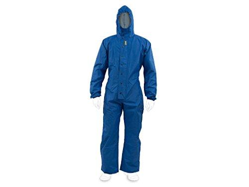 enviro dress Kat III - Traje de protección multigrado (Tipo 4 + 5 + 6 en Talla S - XXXXL), Color Azul Azul XL