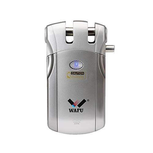 WAFU WF-018U Cerradura Electronica Invisible, Cerradura Invisible, Diseño de Sin Agujero, Método...