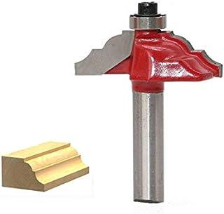 Fresa para madera de 6 mm y 6,35 mm y 8 mm SovelyBoFan Fresa para grabado de madera