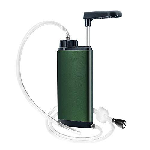 Depuratore d'acqua portatile all'aperto Tre strati di filtrazione per bere in sicurezza per attività ricreative all'aperto