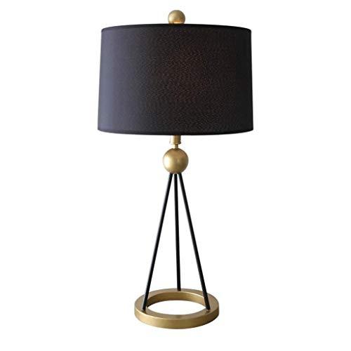 SPNEC Lámpara de Mesa, Sala de Mesa lámpara de Mesa de Comedor Comedor Dormitorio de la lámpara lámpara de cabecera Moderna Simple de los países nórdicos Cubierta de Tela lámpara de Mesa (Color : B)