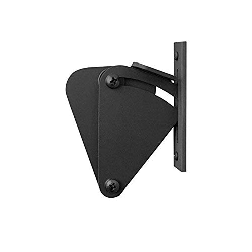Sliding Barn Door Latch Lock Work for Pocket Doors Garage And Shed Wood Gates Easy and Convenient for Use. (Color : Black)