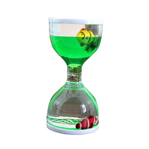 Sylvialuca Movimiento líquido Bubbler Flotante Temporizadores