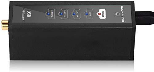 Douk Audio Q2 Mini XMOS XU208 USB DAC Decoder Audio Converter Coaxial Digital Interface DSD256