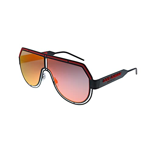 Gafas de Sol Dolce & Gabbana LOGO DG 2231 Matte Black/Red 59/5/140 hombre