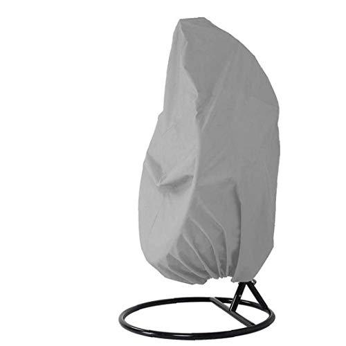 LjzlSxMF Patio Colgando Cubierta de la Silla, Cubierta Protectora Resistente al Agua con Cordones de Mimbre de jardín Columpio Silla Huevo