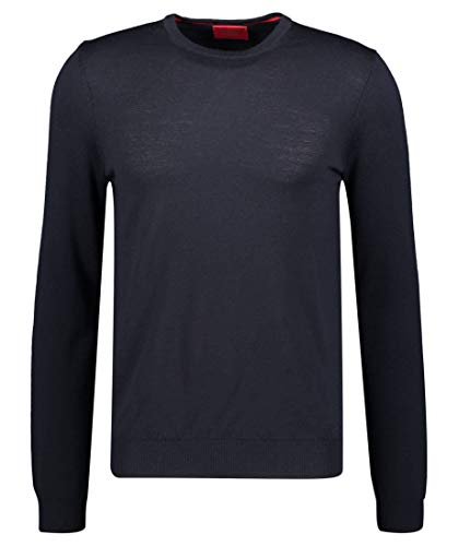 HUGO Herren Sweater San Paolo 2, Navy (410), M