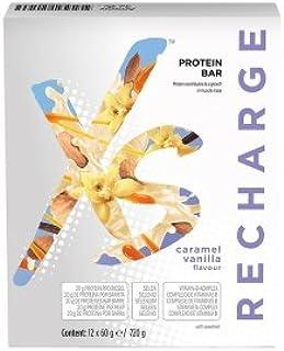 XS NUTRILITE Barritas de Proteínas Sabor Caramelo-Vainilla 12 ...