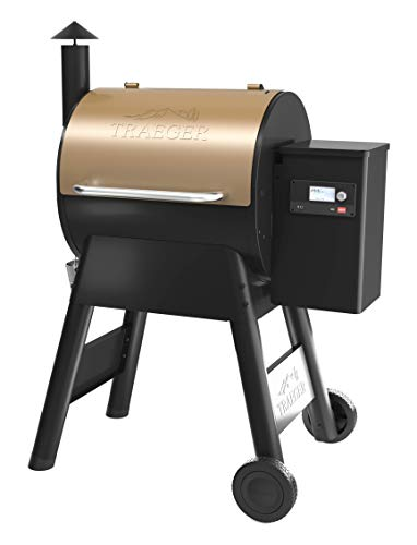 Traeger TFB57GZEO Pro Series 575 Grill, Smoker, Square inches, Bronze