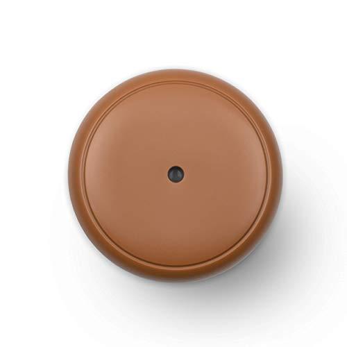 Turbionaire Puck - Difusor de aromas con 7 luces LED intercambiables, 5 W, silencioso, portátil, alimentación con USB, parada automática (Caramel)