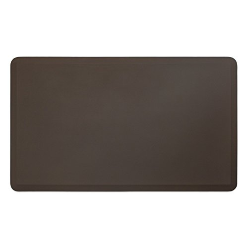 NewLife by GelPro Professional Grade Anti-Fatigue Kitchen & Office Comfort Bio-Foam Mat with non-slip bottom for health & wellness, 36X60, Earth