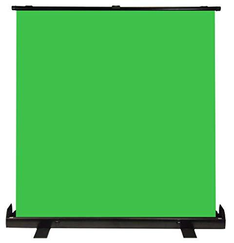Luxburg 220x200 cm Fondale Verde portatile professionale, sfondo Chromakey per foto, video, giochi dal vivo, Studio virtuale