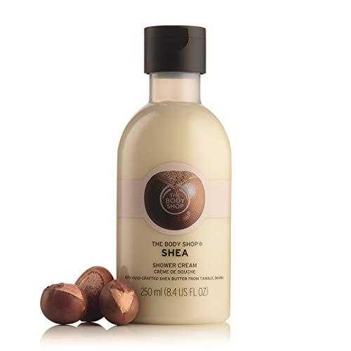 The Body Shop Shea Bath Shower Cream unisex, Shea Bade- und Duschcreme 250 ml, 1er Pack (1 x 25 ml)