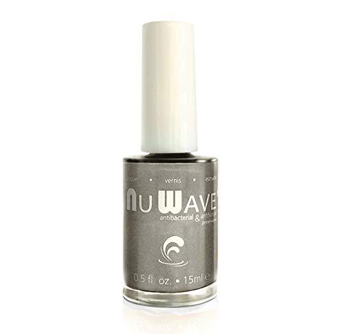 Nu Wave Antifungal & Antibacterial Enriched Nail Polish - Shadow, 0.5 oz