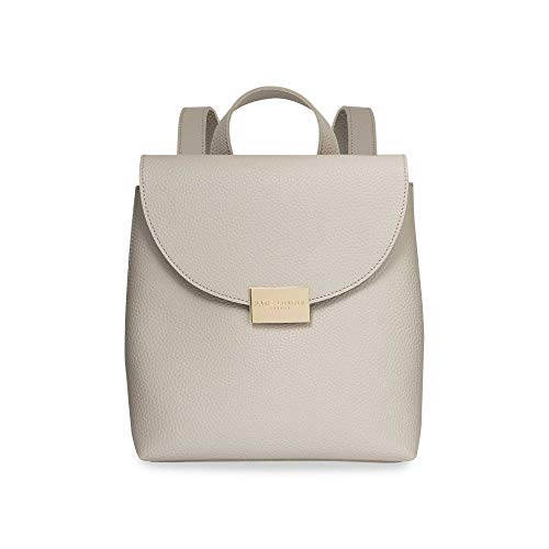 Katie Loxton Bailey Womens Vegan Leather Convertible Strap Top Handle Backpack Purse Grey Size: 9.5 x 7.75 x 4.25