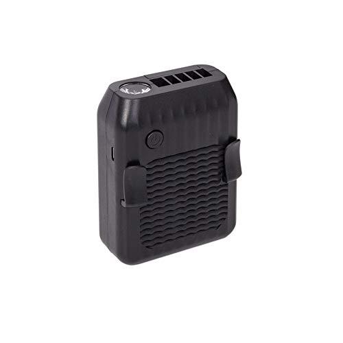 Ventilador De Cintura PortáTil Recargable Usb Para El Hogar / Viajes / Deportes / Al Aire Libre / Camping / Oficina