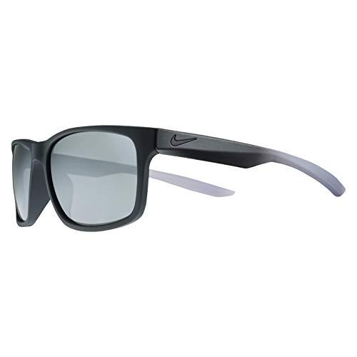 NIKE Essential Chaser EV0999 Gafas de sol, Plateado (Mt Blk/Cl Gr W/Gry Sil Fl), 59.0 para Hombre