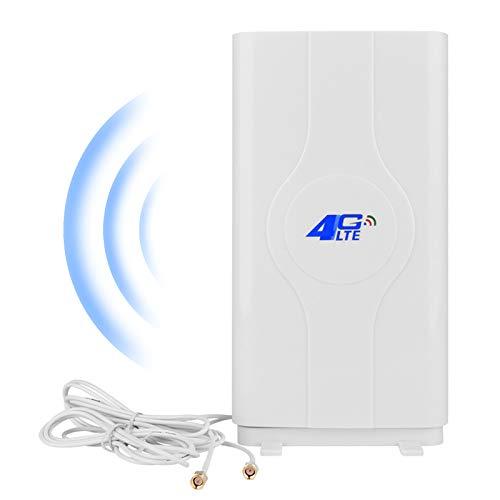 NETVIP 4G Antenne SMA LTE Antenne Mimo High Gain 4G SMA Antenna Booster WiFi Verstärker Antenne für WiFi Router Mobile Breitband Empfang Langstreckenantenne Mit SMA Anschlusskabel für Mobile Hotspot
