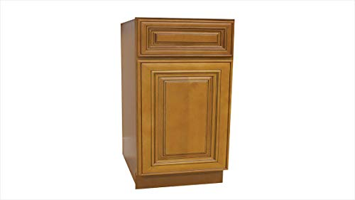 Lily Ann Cabinets Kitchen Base Cabinet 18 inch, Charleston Toffee, RTA