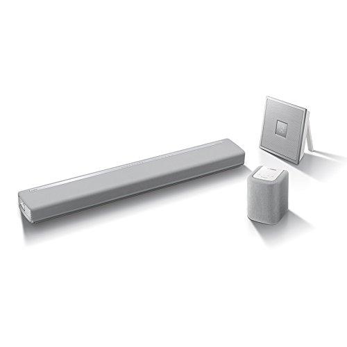Yamaha MusicCast CHORUS Sistema Multiroom Composto da Tre Dispositivi, Bianco