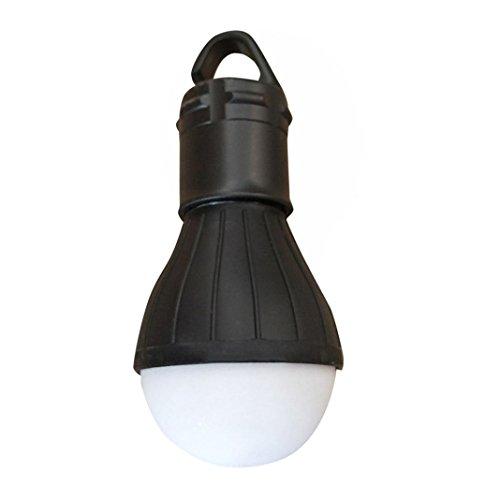 Camping Lampen LED mit Haken, LED Tragbare Camping Laterne Zeltlampe Notlicht Leuchtmittel für Camping, Wandern, Angeln, Jagen, Bergsteigen und andere Outdoor-Aktivitäten (schwarz)