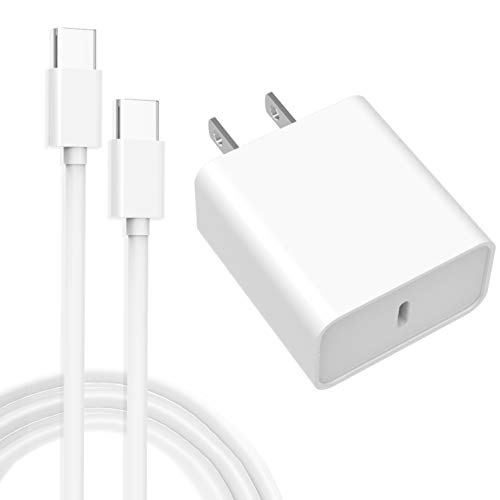 """USB C Charger 18W-PD Wall Charger for Google Pixel 5 4 4a 4XL 3 3a 3XL 2, iPad Pro 11""""/12.9"""" - Pixel Charger with 6.6FT Type C Charging Cable"""