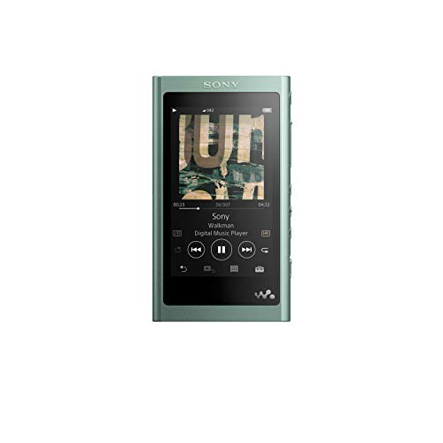 Sony NW-A55LG Walkman (16 GB, Hi-Res, Touch Screen, Bluetooth, NFC, microSD-slot, vinyl Processor), groen