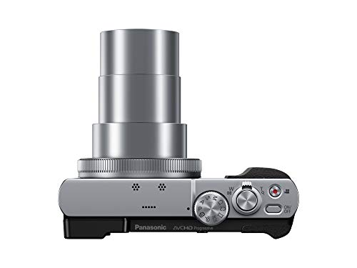 Panasonic DMC-TZ70EG Lumix Kompaktkamera Silber