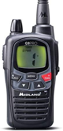 Midland G9 Plus PMR446 / LPD VERSIONE EXPORT 5W
