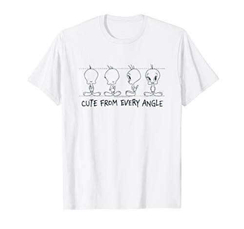 Looney Tunes Tweety Cute From Every Angle T-Shirt
