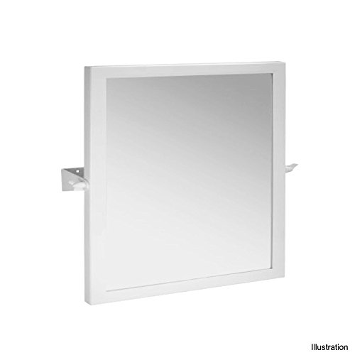 Handelsagentur Lagerdeal Kippspiegel Edelstahl 600x600mm