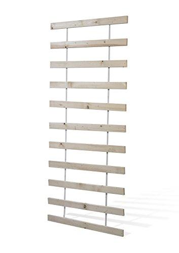 Rollrost, Stabiles Kiefernholz, mit 11 Leisten - Grösse 120x200 cm