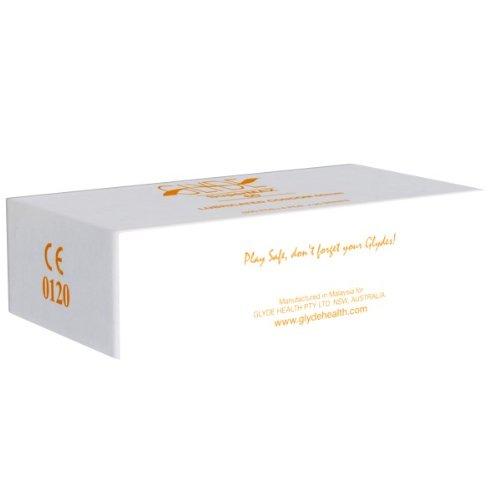 Glyde Ultra Supermax 100 Kingsize Condome, vegane Kondome, 60mm Breite