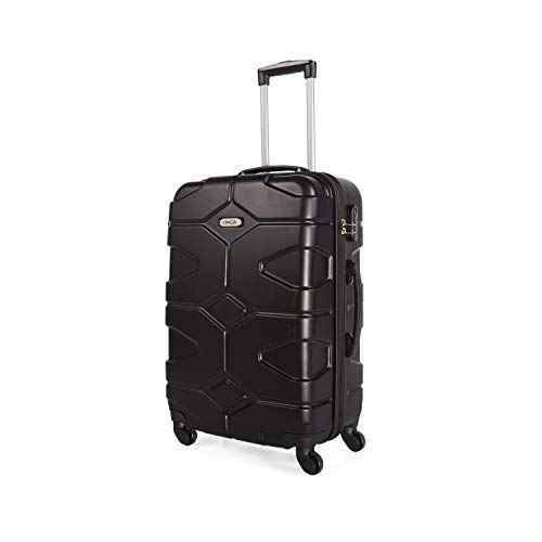 ITACA - 68160 TROLLEY MEDIANO ABS, Color Negro