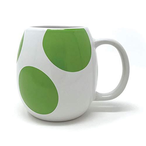 empireposter Super Mario - Yoshi Egg - 3D Mug Keramik Tasse Becher - 450 ml